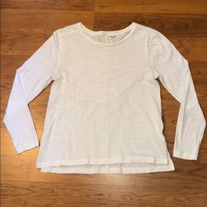 Madewell Whisper Cotton Long-Sleeve Crewneck Tee